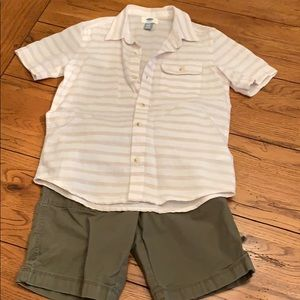 Old Navy Boys Outfit Size Small 6/7